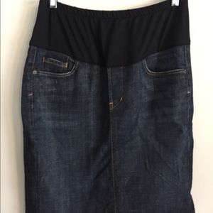 Citizens of humanity maternity skirt size 32
